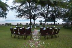 Altar do casamento Fotografia de Stock