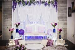 Altar do casamento fotos de stock