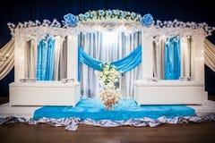 Altar do casamento imagens de stock