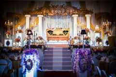 Altar do casamento Foto de Stock Royalty Free