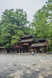 Altar Dorfs Chinas Songtao Miao Nationality Autonomous County Miao alte Stadt Lizenzfreie Stockbilder