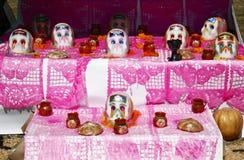Altar dos crânios Fotografia de Stock
