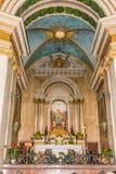 Altar em Stella Maris fotografia de stock