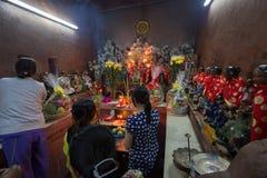 Altar in Emperor Jade Stock Photography