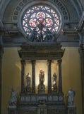Altar en iglesia Fotografía de archivo
