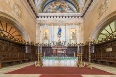Altar en la catedral de La Habana Foto de archivo libre de regalías