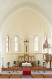 Altar in Evangelical Lutheran Cathedral Royalty Free Stock Photos
