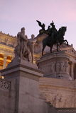Altar of the Fatherland. In Rome Royalty Free Stock Image