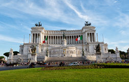 Altar of the Fatherland (Altare della Patria) known as the Monumento Nazionale a Vittorio Emanuele II Stock Image