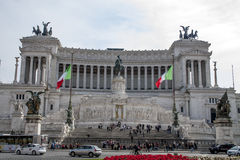 The Altar of the Fatherland. Front side of the Altar of the Fatherland Royalty Free Stock Photo