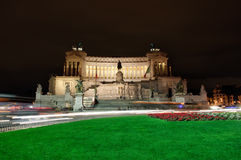 Altar of the Fatherland or Monumento Nazionale a Vittorio Emanuele II (National Monument to Victor Emmanuel II) in Rome, Italy Royalty Free Stock Photos