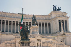 Altar of the Fatherland. Palazzo Vittorio Emanuele in Rome,Italy Royalty Free Stock Photo