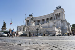 Altar of the fatherland (Piazza Venezia - Roma) Royalty Free Stock Image