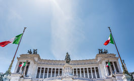 Altar of the Fatherland Stock Images