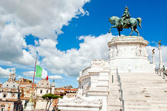 Altar of the Fatherland Royalty Free Stock Photos