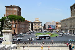 Altar of the Fatherland rome Stock Image