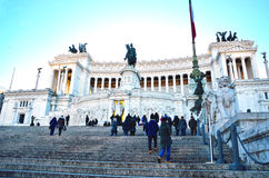 Altar of the Fatherland. Rome Italy Royalty Free Stock Photo