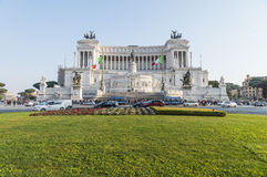 The Altar of The Fatherland in Rome Royalty Free Stock Photo