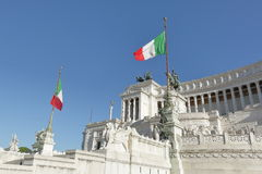 Altar of the Fatherland in Rome, Italy Stock Photos