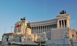 Altar of the Fatherland in Rome, Italy Royalty Free Stock Photo