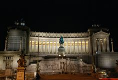 Altar of the Fatherland in Rome, Italy Royalty Free Stock Photography
