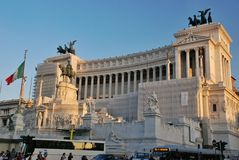 Altar of the Fatherland in Rome, Italy Stock Photography