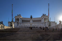 Altar of the Fatherland, Rome, Italy Royalty Free Stock Photo