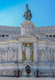 Altar of the Fatherland. ROME, ITALY - MAY 21, 2014: The Altar of the Fatherland (Altare della Patria) also known as the Monumento Nazionale a Vittorio Emanuele Royalty Free Stock Photography