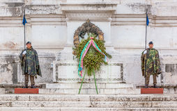 Altar of the Fatherland in Rome Italy Stock Images
