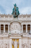 Altar of the Fatherland in Rome Italy Royalty Free Stock Photo