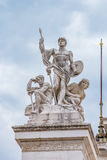 Altar of the Fatherland in Rome Italy Royalty Free Stock Photography