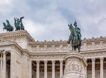 Altar of the Fatherland in Rome Italy Royalty Free Stock Images