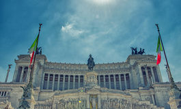 Altar of the Fatherland, Rome royalty free stock image