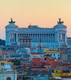 Altar of the Fatherland. Rome Royalty Free Stock Photos