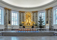Altar of Gothenburg Cathedral, Sweden Royalty Free Stock Photos