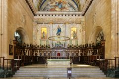 Altar of the Havana Cathedral, Cuba, Havana. Altar of the Havana Cathedral Stock Photos