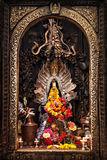 Altar in hindu temple Royalty Free Stock Images