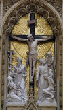 The altar of the Holy Cross Royalty Free Stock Image