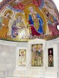 Altar Hungría 2012 de Jerusalén Dormition Abbey Crypt Fotografía de archivo