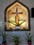 Altar, iglesia, adoración, cristiano fotos de archivo libres de regalías