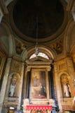 Altar innerhalb der Basilika des Heiligen Mary Major Stockfotos