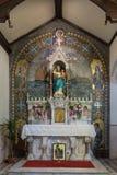 Altar lateral de nuestra señora de Galway en la iglesia en Irlanda Imágenes de archivo libres de regalías