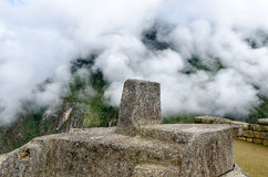 Altar in Machu Picchu Stock Image