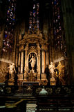 Altar of the Madonna of the Tree Royalty Free Stock Image