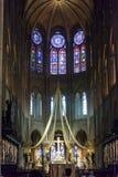 Altar maggiore del Notre Dame de Paris Fotografia Stock Libera da Diritti
