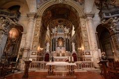 Altar maggiore della basilica Fotografia Stock Libera da Diritti