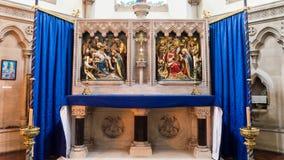 Altar maggiore della cattedrale di Plymouth Fotografia Stock Libera da Diritti