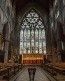 Altar maggiore A della cattedrale di Ripon Fotografie Stock Libere da Diritti