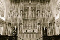 Altar maggiore della cattedrale di Winchester Fotografia Stock Libera da Diritti