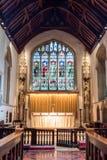 Altar maggiore della chiesa di Burford Fotografie Stock